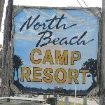 North Gate Camp Resort Sign