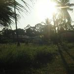Arrivée au Ban Kao Tropical Résidence & Spa, Sunset