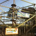 Sky Trail High Ropes at KidzWorld St Austell