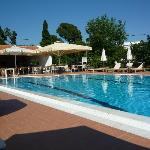 The pool during the day