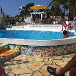 piscine donnant sur la plage