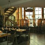 een binnenaanzicht van het restaurant