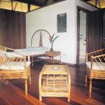 Interior del bungaló