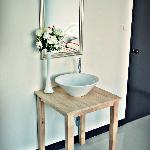 Private double room with wash basin
