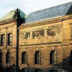 Galeria Malarstwa i Rzeźby (gmach główny Muzeum), widok od ul. Ludgardy