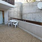 terrasse enclavée mur 7 m paraboles