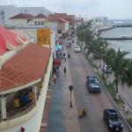 Looking south away from the plaza from Bahia Balcony