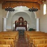 Inside Stations of the Cross Church-