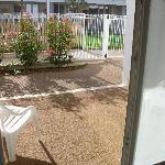 vue de la petite terrasse des chambre