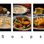 A few of our homemade soups