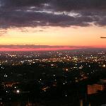 Un tramonto dal B&B