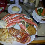 Captain Hook's Broiled Platter Plus Lobster Tail