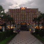 The Hotel fasade