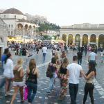 Goal kick away from Monastiraki Square