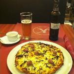 Pizza de Calçots (de temporada)