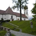Another view of the Grainau Church