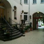Entrance to Myer's Hotel