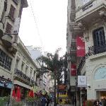 Caminho para Sarandí e Mercado