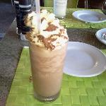 Iced mocha at Ka'Kau