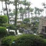 Kelly Habbas' view from room at Hyatt Aruba
