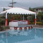 Pool Side - Wedding Preparation 6