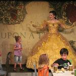 Tea Time with Belle (pre-show) our daughter loved it! 2010