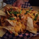 nachos with smoked chicken