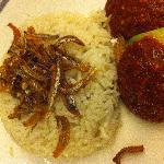Fragrant nasi (coconut rice)
