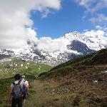Panoramaweg vom Männlichen aus: Vom Alpenhof - Lauterbrunnen - Wengen - Männlichen