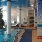 interior of pool