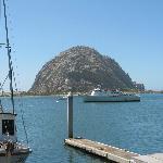 Aussicht direkt vom Bayfront Inn aus