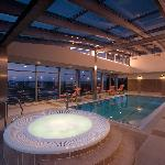 Jacuzzi and swimming pool