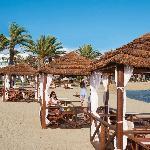 Asimina Suites Hotel - Beach Cabanas