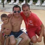 Bordo piscina con Rocco il bagnino ;)