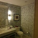 Bathroom at our hotel...so unique!