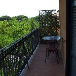 Room 522 balcony