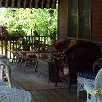 Another angle of back deck