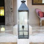 Details - oversized lantern