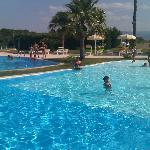 una parte della piscina laguna