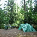 Smaller Campsite Area