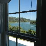 Requa Inn room view of Klamath River