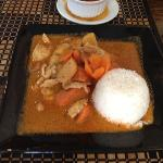 Mussiman curry with chicken