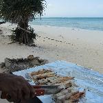 Seafood barbecue barbecue de fruits de mer