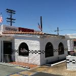 outside of Fred's old fashioned burgers El Cajon CA