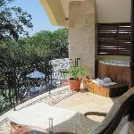 Balcony off the Master Suite