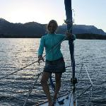 Yachting lago Nahuel Huapi
