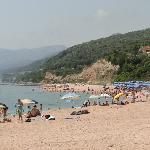 Spiaggia libera del villaggio