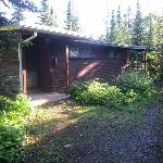 Cabin exterior - #212 at far end.