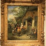 Een schilderij gemaakt door derden