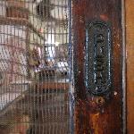 The original door to Tupper's store